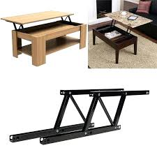 lift top table lift up coffee table desk mechanism fitting hardware furniture diy lift top coffee