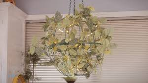 how to make wire basket hanging lights
