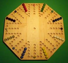 Wooden Game With Marbles Wooden Game Boards Wooden Marble Game Board Aggravation 100 65
