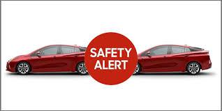 Toyota Recalls Prius Models Due to Faulty Brakes - Toyota Recall