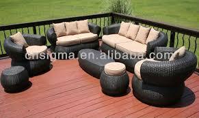 comfortable porch furniture. 2017 Bali Style 7Pc Outdoor Furniture Sofa Set Wicker Rattan Comfortable Garden Porch R