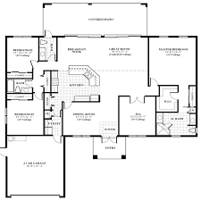 House Floor Plans With Pictures  Jupiter Farms The Oak Model Single Family House Plans
