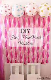 best 25 diy birthday party birthday party backdrop ideas imposing best 25 decorations on