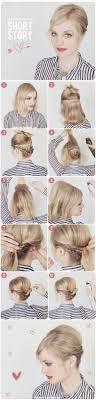 Peinados R Pidos Y Sencillos Para El Cabello Corto Que Te