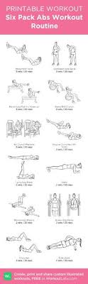 Six Pack Abs Workout Chart Posts Similar To Six Pack Abs Workout Quick Abs Routine