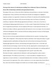 essay importance of organizational behavior mgmt  8 pages oji leadership essay