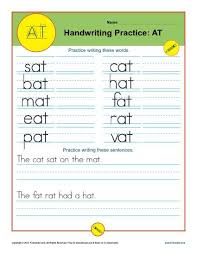 Writing Practice Worksheet Letters At Printable Alaphabet Handwriting Worksheets For Kids