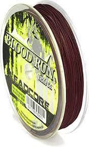 Amazon Com Blood Run Micro Leadcore Trolling Line 100yd