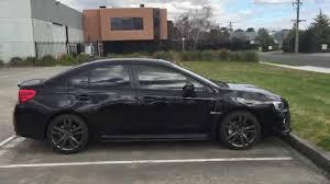 subaru wrx 2016 black.  Wrx QUICK WALK AROUND OF MY 2016 CRYSTAL BLACK SILICA SUBARU WRX CVT PREMIUM  EDITION Throughout Subaru Wrx Black YouTube