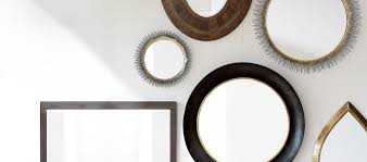 Mirrors In Decorating Home Wall Decor Mirror Wall Art And Shelves Crate And Barrel