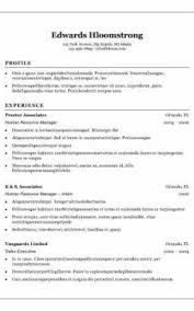 Traditional Resume Template Free Best Traditional Resume Template Free Formatted Templates Example