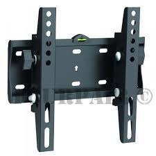 details about tilt tv lcd led universal vesa wall mount bracket 19 22 24 27 28 32 37 39 40 42