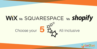Wix Vs Shopify Wix Vs Squarespace Vs Shopify Choose Your 5 Star All Inclusive