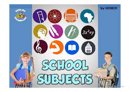 esl school subjects powerpoint presentations exercises school subjects ppt