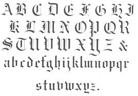black letter font black letters dr odd