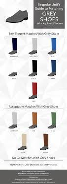 Shoes With Light Grey Pants How To Pair Grey Shoes With Different Trousers Bespoke Unit