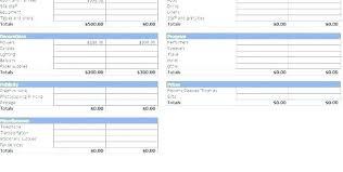 Sample Wedding Budget Spreadsheet Wedding Budget Spreadsheet Excel College Labor Layout
