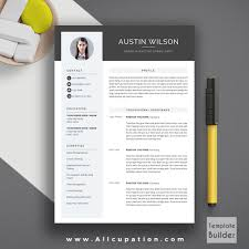 Highest Rated Resume Template With Cover Letter And References