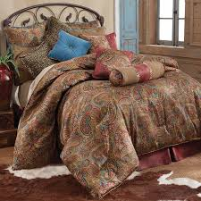 paisley king comforter sets san angelo bedding set free 0