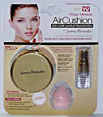 magicminerals by jerome alexander 2pc kit mineral powder pact with mirror blending sponge and professional stubby