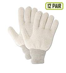 Magid Glove Safety Pt944rj Magid Terry Master Pt944r Medium Weight Loops Out Terrycloth Gloves Mens Fits Natural Jumbo Fits Xl Pack Of 12