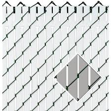 chain link fence privacy screen. Pexco Gray Chain-Link Fence Privacy Screen Chain Link N