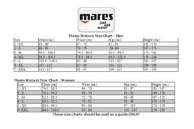 Mares Hood Size Chart 2019