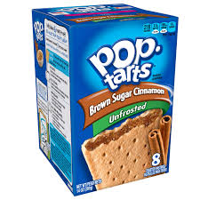 amazon pop tarts breakfast toaster pastries unfrosted brown sugar cinnamon flavored 14 oz 8 count pack of 12 toaster pastries