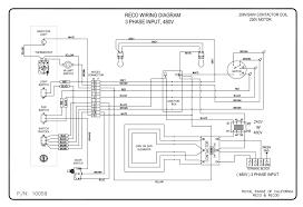wiring diagrams royal range of california 3 phase motor wiring diagram pdf reco 480v 3 phase