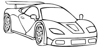 Pictures Of Racing Cars To Colour In Race Car Coloring F1 Colouring