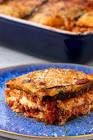 meatless grilled eggplant lasagna