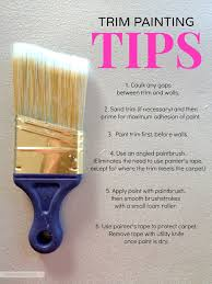 how to paint trim a complete tutorial for transforming an outdated house just by using paint this is a great post