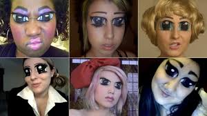 it s like cosplay for your eyes elaborate eye make up for geeks 10 anime you should watch a