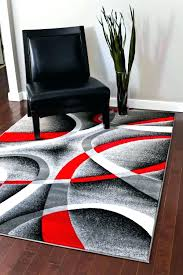 black area rugs com gray red white swirls 7 x 6 modern intended 8x10 for red rug purple area