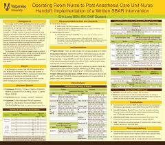 Pacu Nurse Charting Operating Room Nurse To Post Anesthesia Care Unit Nurse