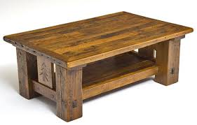 Barnwood Coffee Table With Shelf U0026 Carved Pine Tree. Home/Products/Barnwood  Coffee Table ...