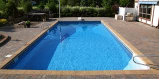 Rectangle shaped pool are the most popular shape for inground pools