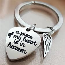 My Angel Above Keychain