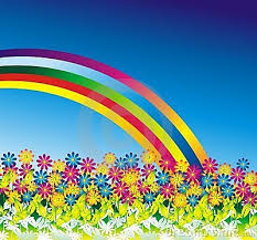 Image result for daisy and rainbow