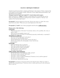 Gallery Of Choreographers Cover Letter