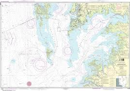 Chesapeake Bay Chart Book Noaa Nautical Chart 12228 Chesapeake Bay Pocomoke And Tangier Sounds