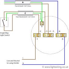 radial circuit light wiring diagram basic home