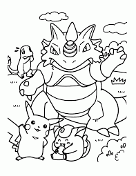 Small Picture Coloring Pages Pokemon Dedenne Pokemon Coloring Pages Pokemon