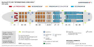 Air France Seating Chart 777 Air France Deploys Boeing 777 On Paris Bangalore Route