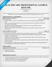 Sample Resume For Healthcare Examples Of Objectives For Resumes In