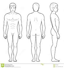 Human Figure Outline Free Download Clip Art Area 77 Com