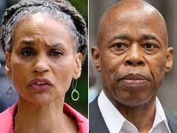 NYC mayor hopeful Maya Wiley slams Eric ...