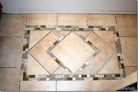Decorative Tile Designs Remodelaholic Inlaid Tile Rug Tutorial 31