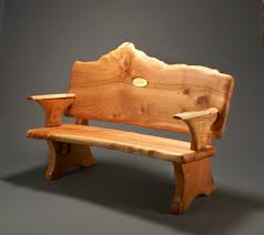 log furniture ideas. Rustic Log Furniture Bench With Arm Ideas H