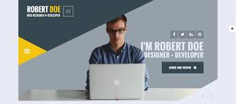 Personal Website Templates Enchanting Portfolio Website Template 28 Personal Website Templates For